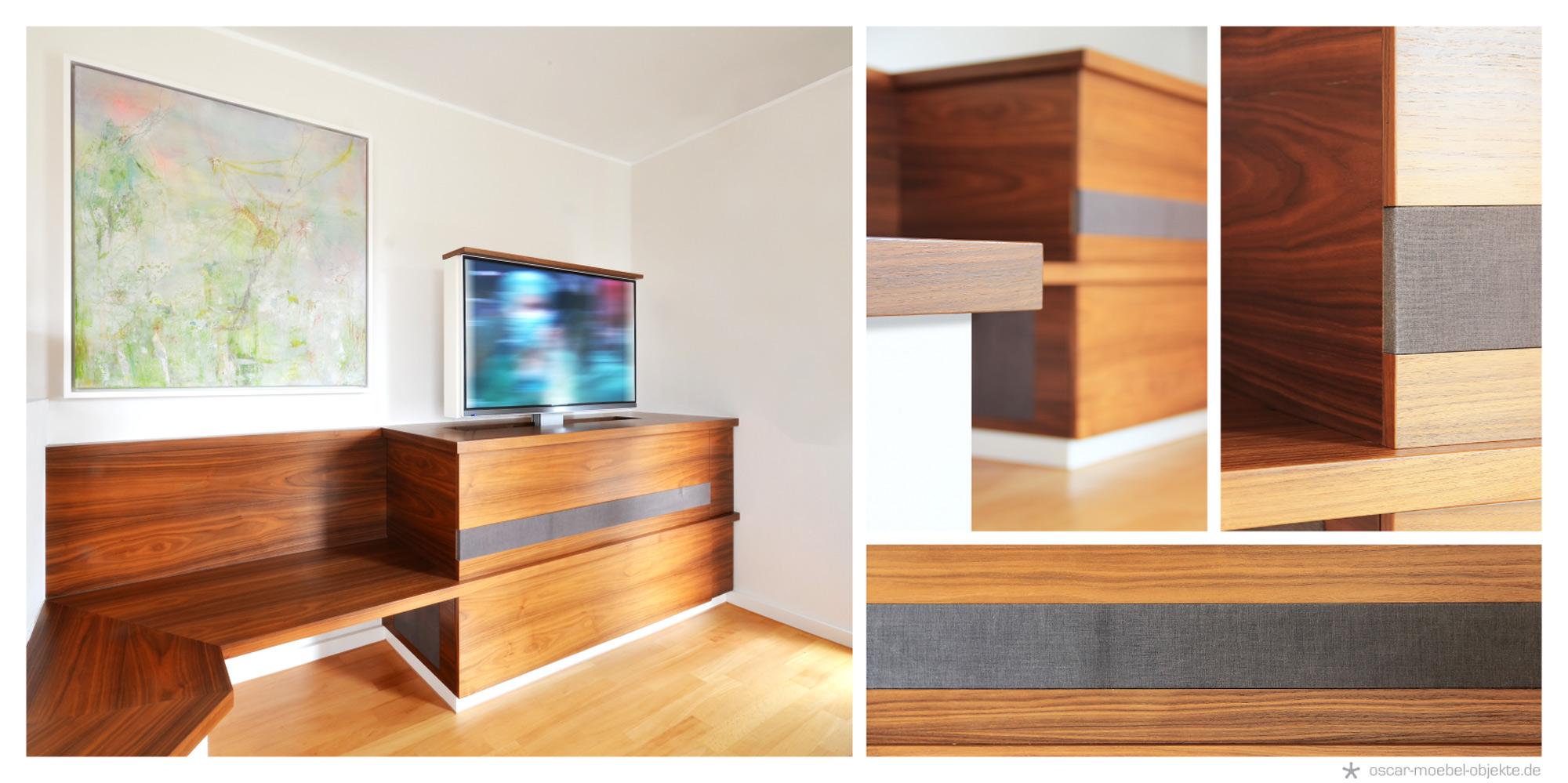 m bel innenausbau oscar m bel objekte. Black Bedroom Furniture Sets. Home Design Ideas